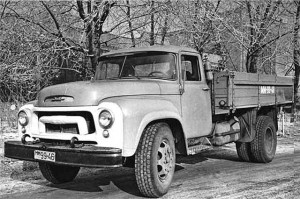 Опытный ЗИЛ-130. 1957 г.