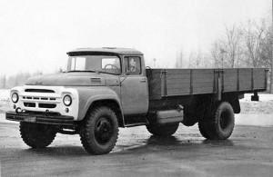 ЗИЛ-130Г с удлиненной до 4,5 м колесной базой