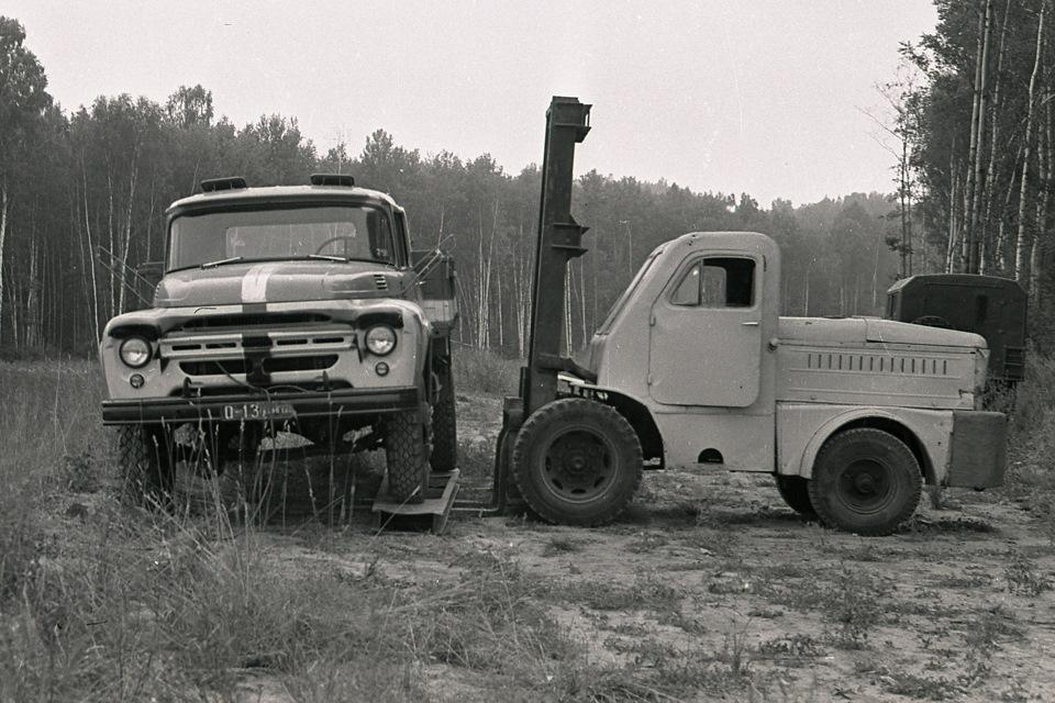 Краш-тест ЗиЛ-130 в 1972 году