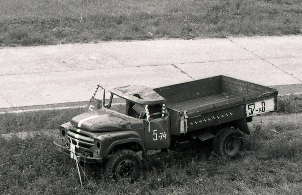 Краш-тест ЗиЛ-130