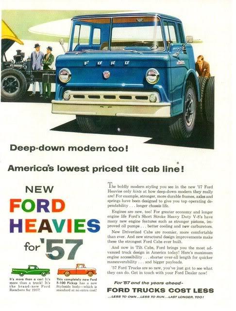 Новый форд на рекламном буклете