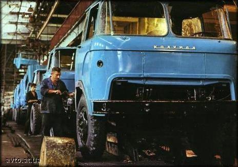 КАЗ-601 КОЛХИДА