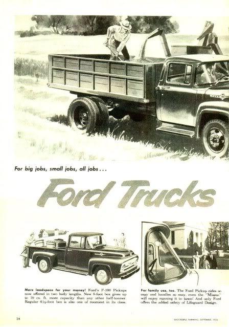1960 Ford F-600 Рекламный буклет