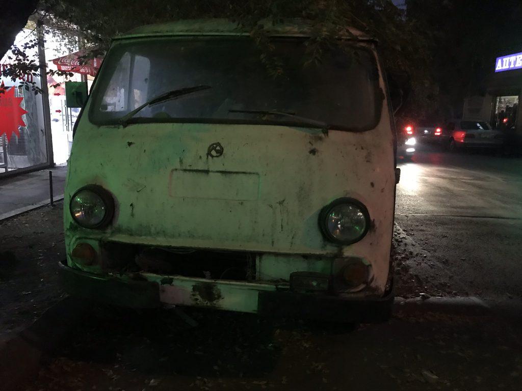Развозной фургон, выпускавшийся Ереванским автомобильным заводом с 1966 по 1996 год на агрегатах ГАЗ-21 «Волга». Прототип - РАФ-977К.